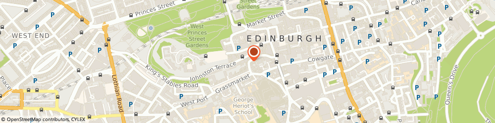 Route/map/directions to Pine & Old Lace, EH1 2JW Edinburgh, 46 VICTORIA STREET