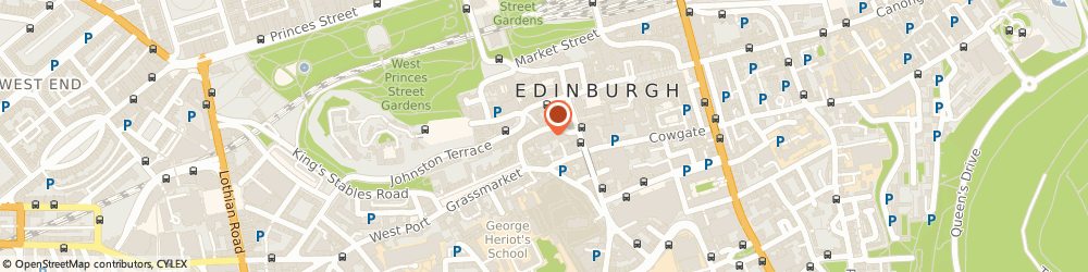 Route/map/directions to Mariachi Restaurant, EH1 2HE Edinburgh, 7 Victoria St