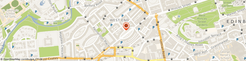 Route/map/directions to Complete Cleaning Contracts Ltd, EH3 7LA Edinburgh, 2 Walker St