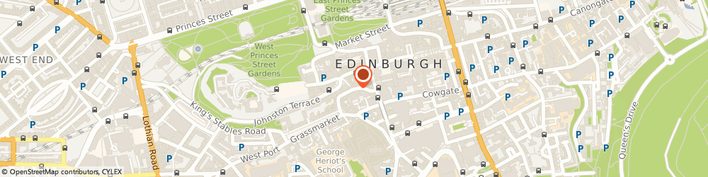 Route/map/directions to The Whisky Shop, EH1 2JW Edinburgh, 28 VICTORIA STREET