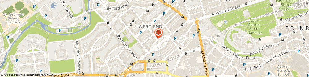 Route/map/directions to Strathberry, EH3 7LA Edinburgh, 4 Walker St