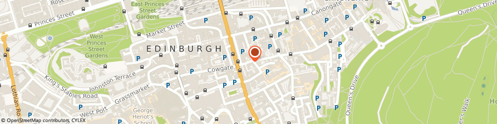 Route/map/directions to Magdalen Chapel, EH1 1JR Edinburgh, 41 Cowgate