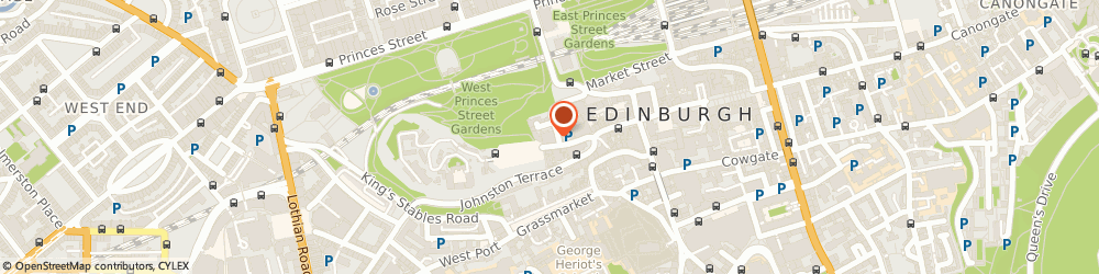Route/map/directions to Edinburgh Old Town Weaving Co The, EH1 2ND Edinburgh, 555 Castlehill