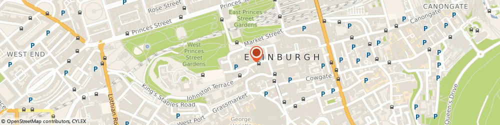 Route/map/directions to Best Of Scottish, EH1 2PE Edinburgh, 509-513 LAWNMARKET
