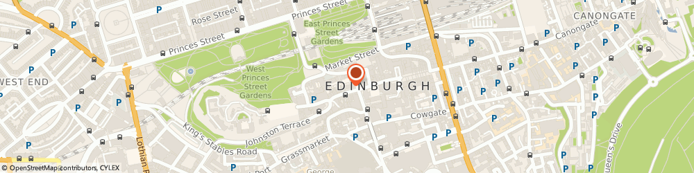 Route/map/directions to The Writers Museum, EH1 2PA Edinburgh, Lawnmarket, Lady Stair's Close