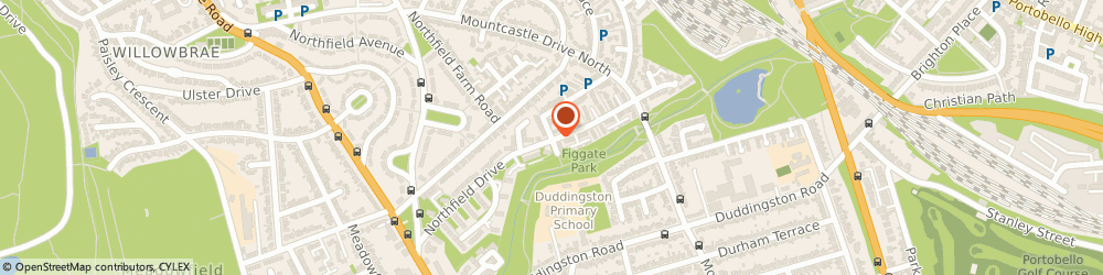 Route/map/directions to 1st Class Driving School, EH8 7RH Edinburgh, 446 Northfield Drive