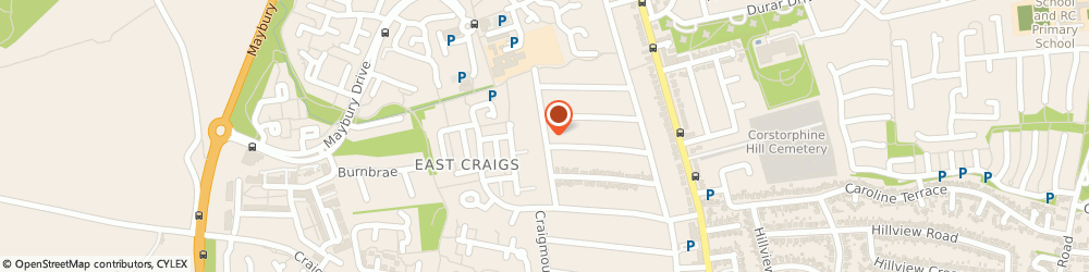 Route/map/directions to G.p Driving School, EH12 8BY Edinburgh, 25 Craigmount Grove North