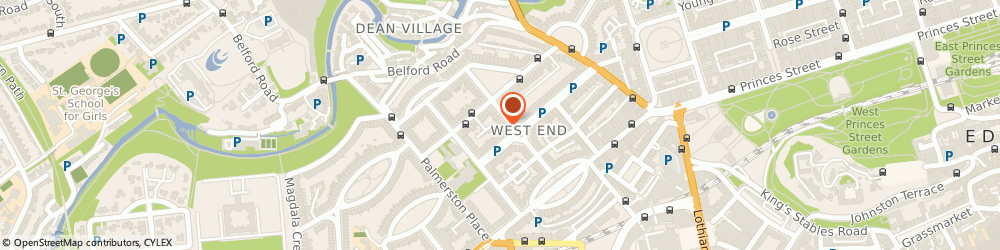 Route/map/directions to Hollis Accounting Limited, EH3 7HW Edinburgh, 3 Melville Cres