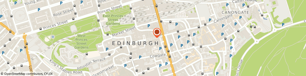 Route/map/directions to The Royal McGregor, EH1 1QS Edinburgh, 154 High Street