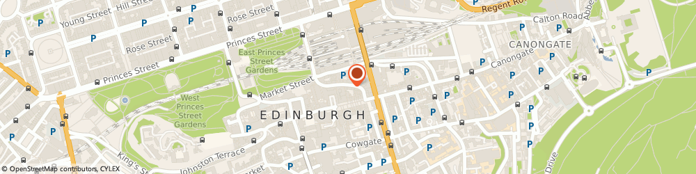 Route/map/directions to Whisky World, EH1 1PB Edinburgh, 36 Cockburn St