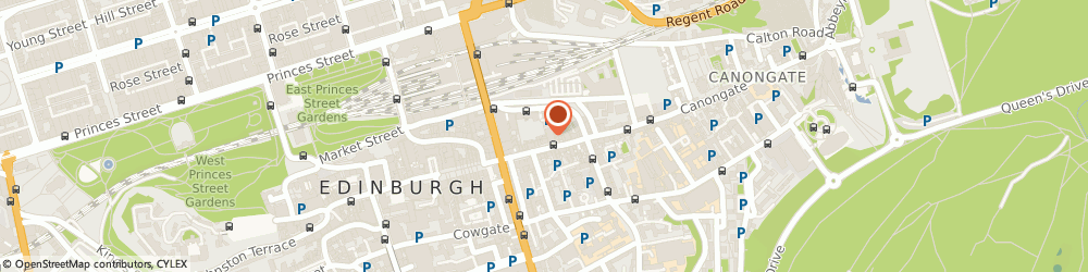 Route/map/directions to The Brass Rubbing Centre, EH1 1SS Edinburgh, 81 HIGH STREET CHALMERS CLOSE