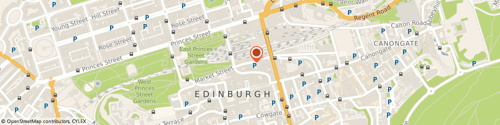 Route/map/directions to The Fruitmarket Gallery, EH1 1DF Edinburgh, 45 Market Street