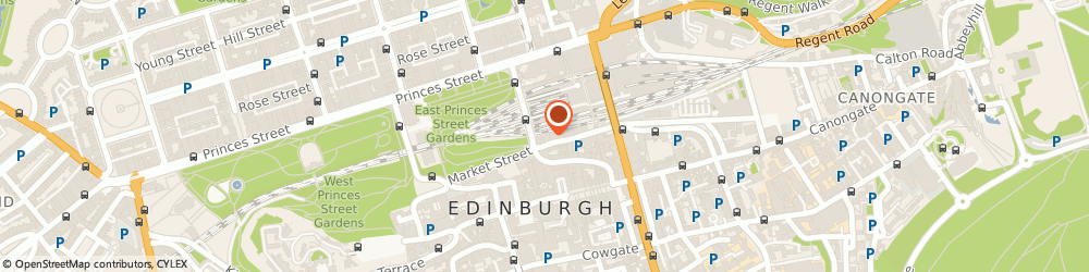 Route/map/directions to The Edinburgh Dungeon, EH1 1DF Edinburgh, 31 Market Place