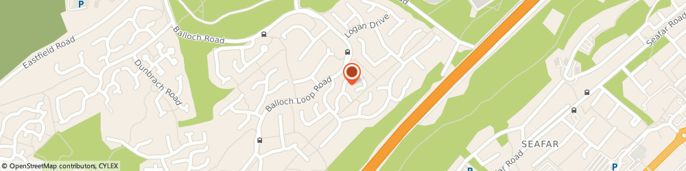 Route/map/directions to J Wallace Scaffolding Ltd, G68 9BF Glasgow, 24 Tinto Drive