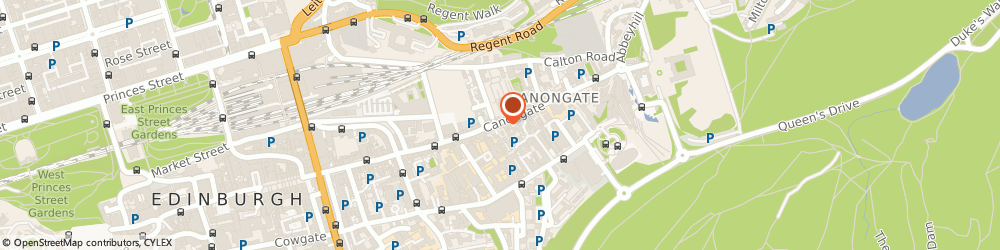 Route/map/directions to Palace of Holyrood House, EH8 8DX Edinburgh, Canongate