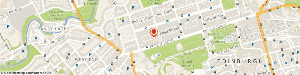 Route/map/directions to Daniel Henderson Jewellers, EH2 4BA Edinburgh, 188 Rose St