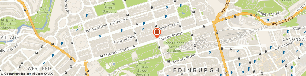 Route/map/directions to Transperfect, EH2 2ER Edinburgh, 83 Princes Street