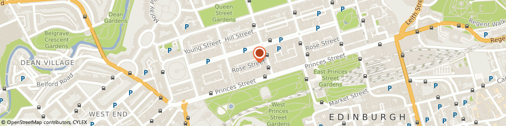 Route/map/directions to Palenque Jewellery Chester, EH2 3DT Edinburgh, 99 Rose Street