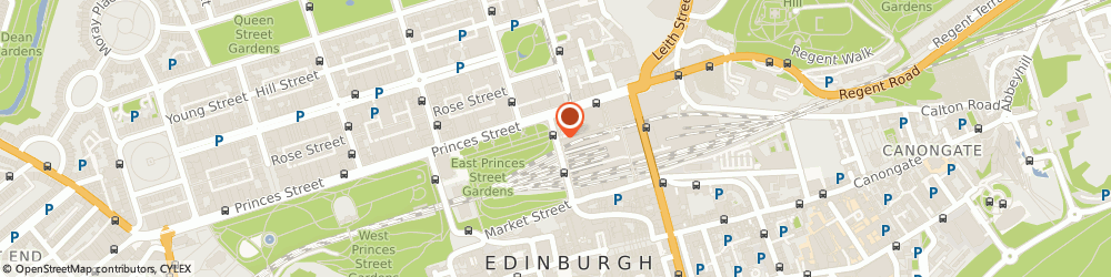 Route/map/directions to Edinburgh Bus Tours, EH1 1BQ Edinburgh, 31 Waverley Bridge