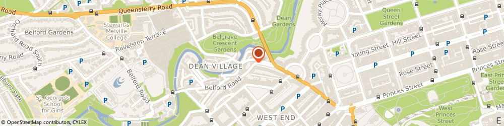 Route/map/directions to One Accounting Ltd Christopher Thomas, EH4 3BL Edinburgh, 2 Belford Road