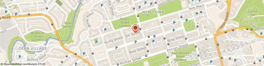 Route/map/directions to Ppca Ltd, EH2 3JP Edinburgh, 13 Hill Street