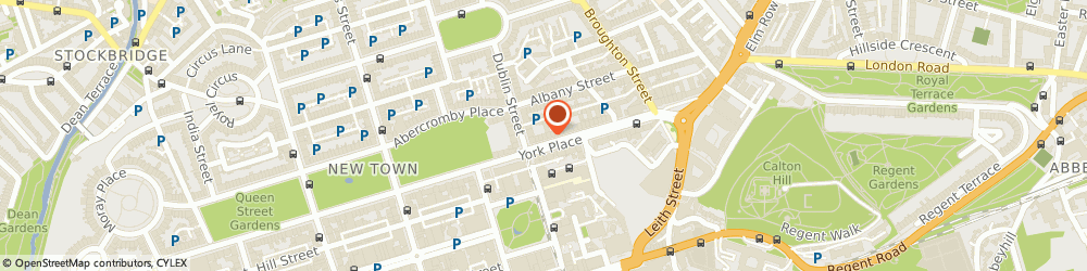 Route/map/directions to Angelia Translations Ltd, EH1 3EP Edinburgh, Manchester Office, 10 York Place
