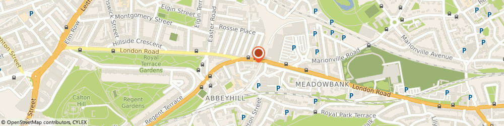 Route/map/directions to Abbeyhill Garage, EH7 5SN Edinburgh, 13 Cadzow Place