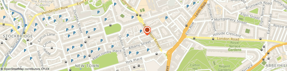 Route/map/directions to Q-Store (Adult), EH3 6PD Edinburgh, 5, BARONY STREET