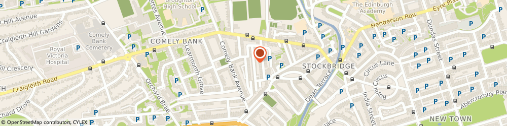 Route/map/directions to Reid & Partners, EH4 1EE Edinburgh, A, 13 DEAN PK MEWS