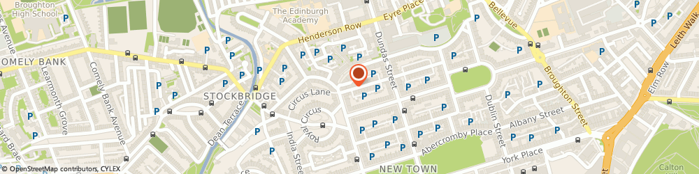 Route/map/directions to LivOn! Antioxidant Coffee Brand, EH3 6RE Edinburgh, 64a Cumberland Street