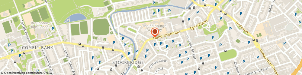 Route/map/directions to John Belford, EH3 5BJ Edinburgh, 68 HENDERSON ROW