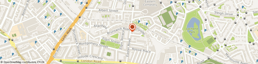 Route/map/directions to Taxassist Accountants, EH7 5PP Edinburgh, The Business Shop, 105 - 107 Easter Road