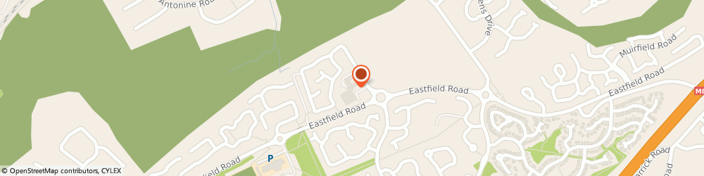 Route/map/directions to Carrickstone House Care Home, G68 0GA Glasgow, 1 Ratho Drive