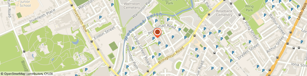 Route/map/directions to AH & Co Limited, Chartered Accountants, EH7 4HG Edinburgh, 6 Logie Mill
