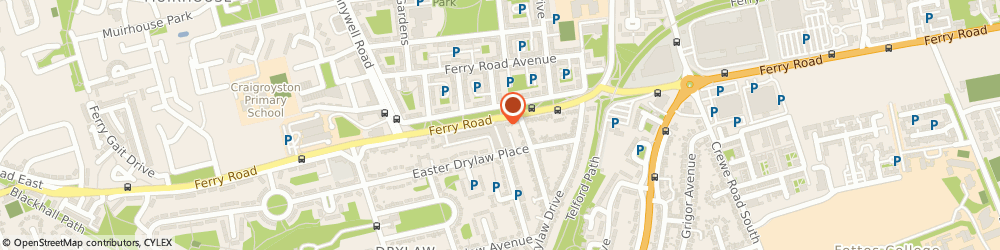 Route/map/directions to The Money Station Ltd, EH4 2TX Edinburgh, 645 Ferry Rd
