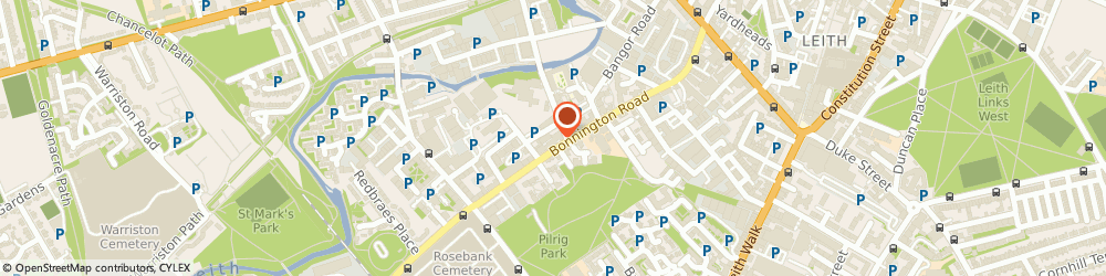 Route/map/directions to Spider Software Ltd, EH6 5NP Edinburgh, 4-2, Anderson Place
