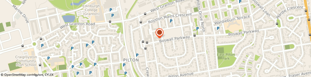 Route/map/directions to MHA Wesley Court, EH5 1LG Edinburgh, Wesley Court, 13 Royston Mains Place
