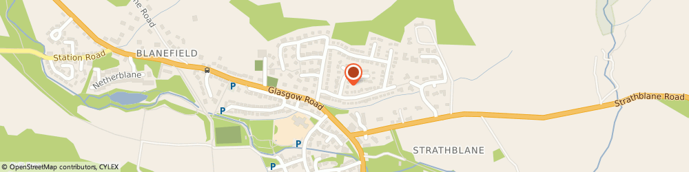 Route/map/directions to Blanefield Cars, G63 9DP Glasgow, 4 Craigfern Dr