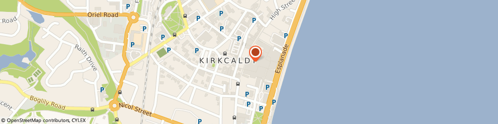Route/map/directions to TSB Bank, KY1 1NQ Kirkcaldy, 114 High Street