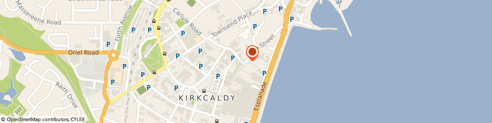 Route/map/directions to RBS The Royal Bank of Scotland ATM, KY1 1NL Kirkcaldy, 92 HIGH STREET