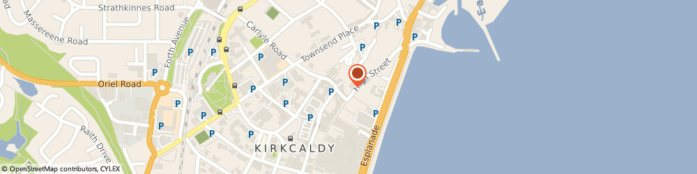 Route/map/directions to British Heart Foundation, KY1 1JF Kirkcaldy, 221-223 High Street