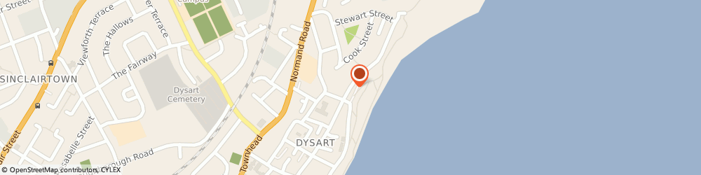 Route/map/directions to Clydesdale Bank PLC, KY1 1JT Kirkcaldy, 216 HIGH STREET