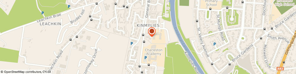 Route/map/directions to Post Office Limited, IV3 8YB Inverness, 2 Charleston Court