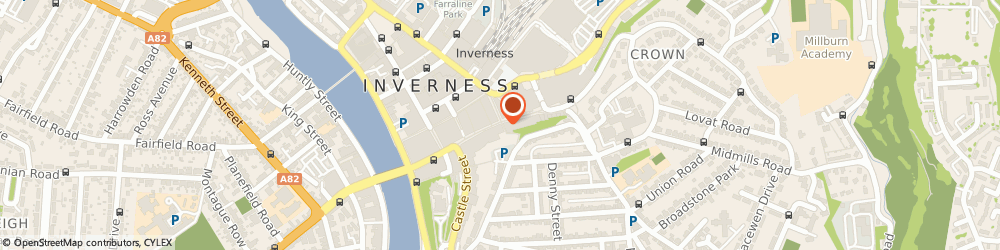 Route/map/directions to Natwest Atm, IV1 1JE Inverness, 60 High Street