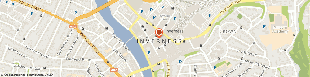 Route/map/directions to NatWest - INVERNESS ATM, IV1 1DG Inverness, 25 Queensgate