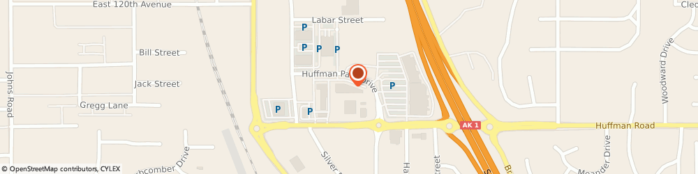 Route/map/directions to Block Advisors, 99515 Anchorage, 1320 Huffman Park Dr