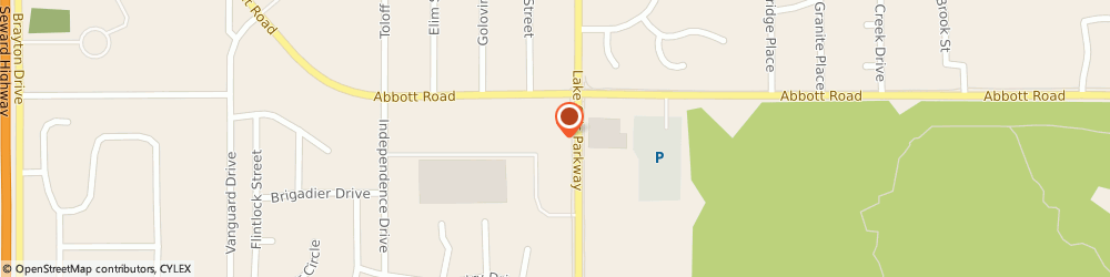 Route/map/directions to STATE FARM Stacey Roy, 99507 Anchorage, 9220 Lake Otis Parkway, Suite A6
