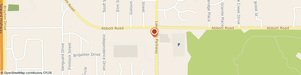 Route/map/directions to H&R Block, 99507 Anchorage, 9220 Lake Otis Pkwy