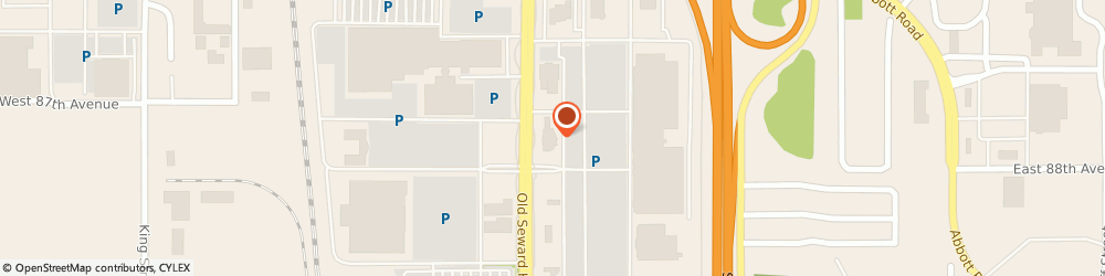 Route/map/directions to First National Bank of Alaska, 99515 Anchorage, 8725 Old Seward Highway