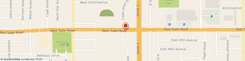 Route/map/directions to STATE FARM Steve VanHorne, 99503 Anchorage, 510 W Tudor Road, Ste 1